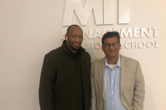 With United Labs partner Raj presenting at the MIT Sloan School of Management