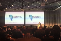 WorldRemit Founder and CEO Ismail Ahmed giving his keynote speech at the MIT Africa Innovate Conference