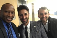 With Ian Carnevale, co-Founder of Andela and CEO of Harambe Alliance