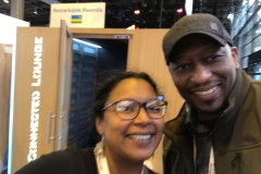With Fatoumata Niang, Lead at Jokko Labs, during Viva Technology in Paris