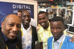 With Senegalese Entrepreneurs at Viva Technology in Paris