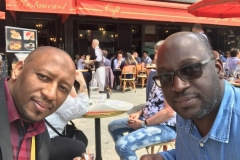 With Souleymane Diallo, former GM Africa of Western Union, former CEO of Etisalat and CEO of Alpha Telecom in Paris