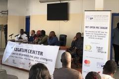 During the MIT Open Mic Dakar Meetup with Impact Hub Dakar and Dakar Open Campus
