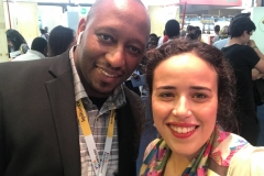 With Dounia Belghiti, founder of PhD Talent at Viva Technology in Paris