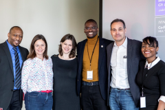 Fiona Murray, Dean of Innovation at MIT, Georgina Campbell Flatter, ED of the Legatum Center, Okendo Lewis Gayle, Africa Advisor of Mark Zuckerberg and Phil Budden, former British Council General to New England