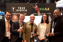With Fintech startup Koosmik at Viva Technology in Paris
